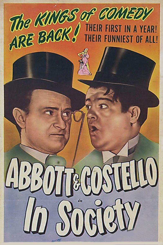 In Society movie poster