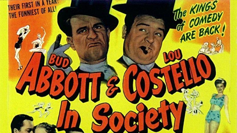 In Society movie scenes