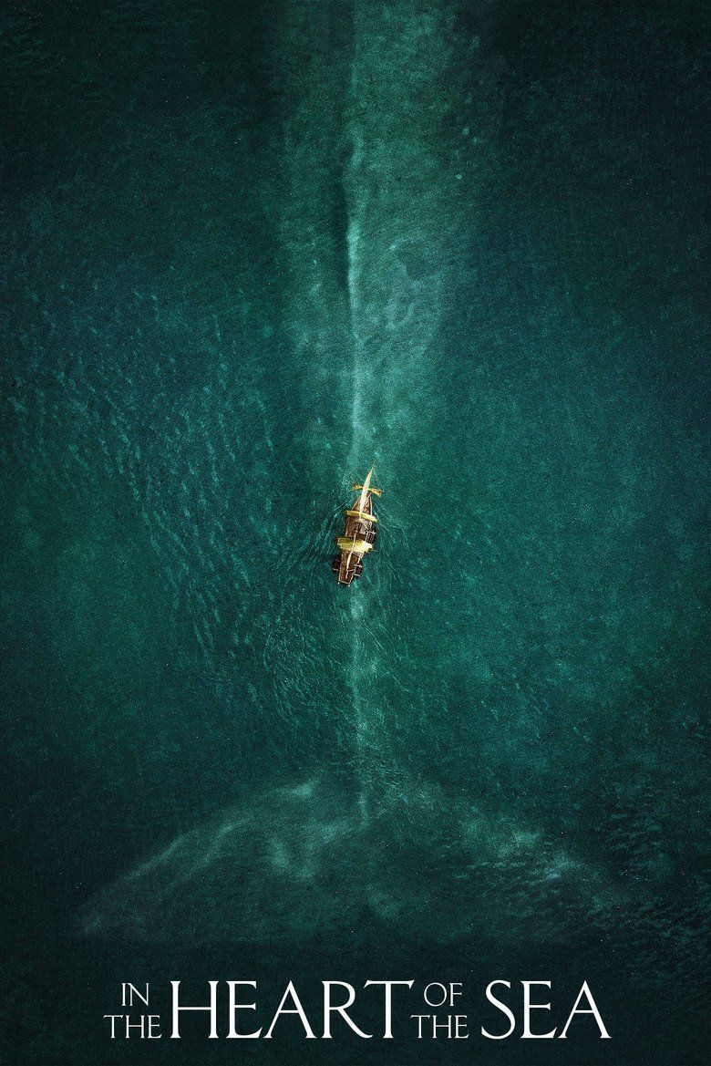 In the Heart of the Sea (film) movie poster