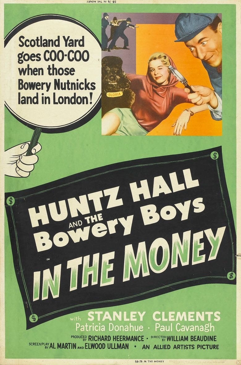 In the Money movie poster