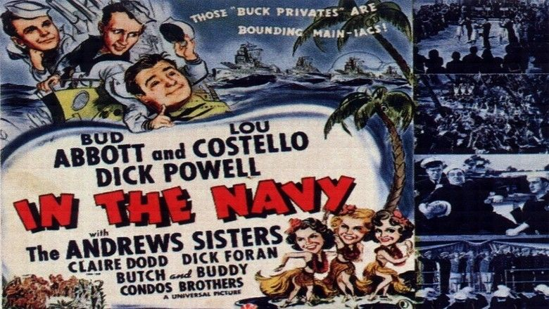 In the Navy (film) movie scenes