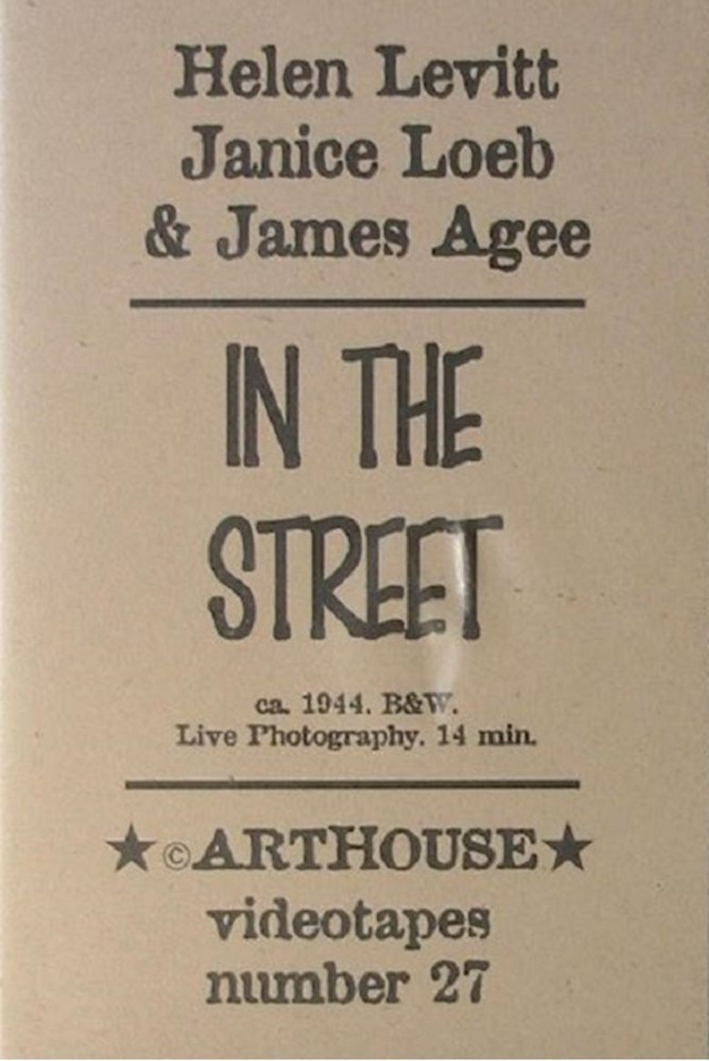 In the Street (film) movie poster