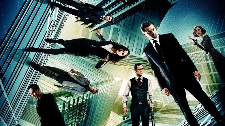 Inception movie scenes