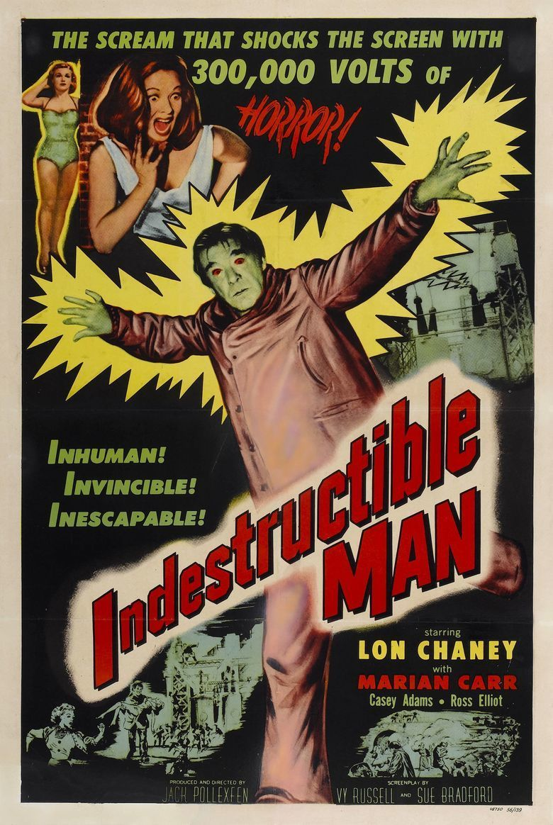 Indestructible Man movie poster