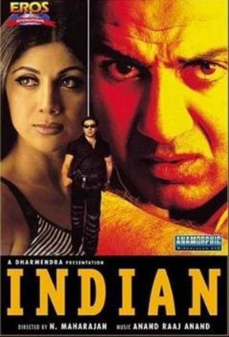 Indian (2001 film) movie poster