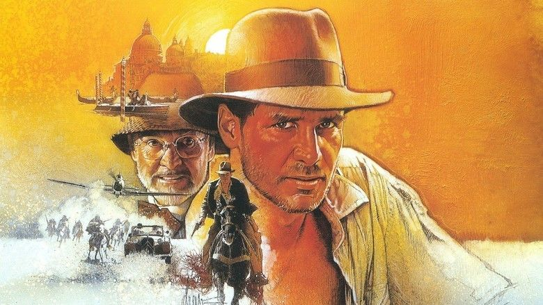 Indiana Jones and the Last Crusade movie scenes