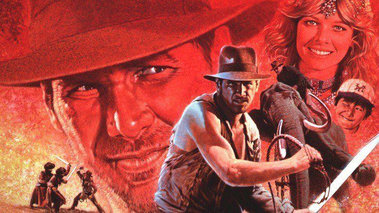 Indiana Jones and the Temple of Doom movie scenes