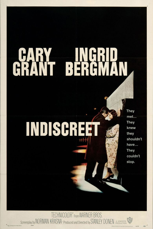 Indiscreet (1958 film) movie poster