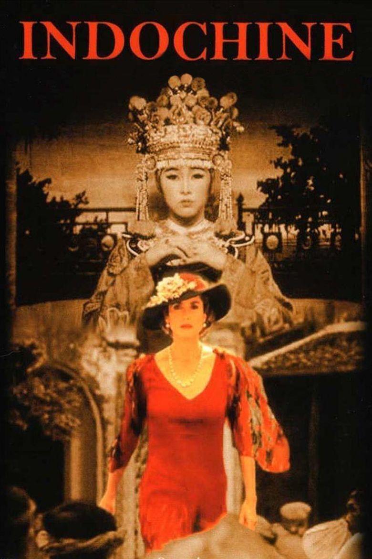 Indochine (film) movie poster