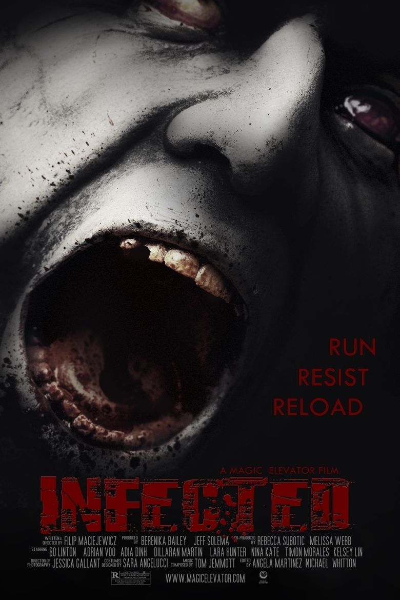 Infected (2013 film) movie poster