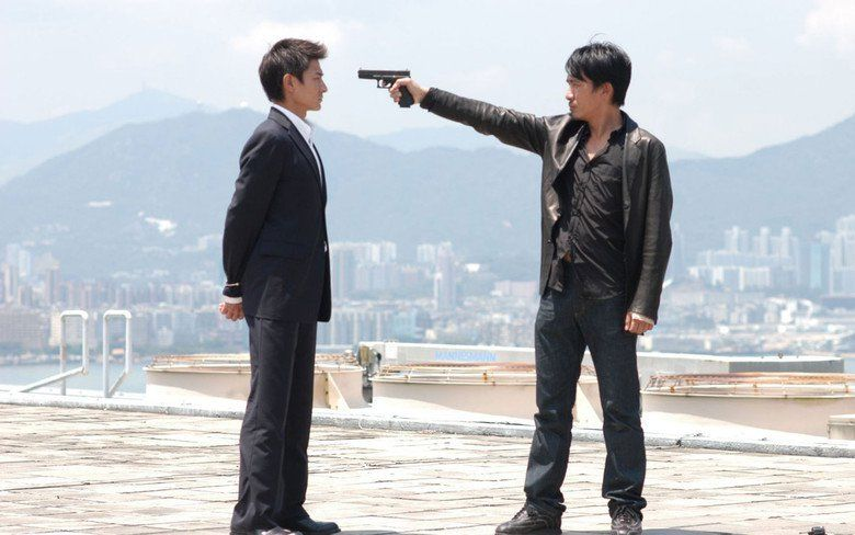 Infernal Affairs movie scenes