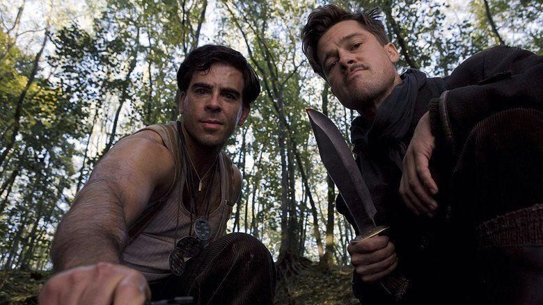 Inglourious Basterds movie scenes
