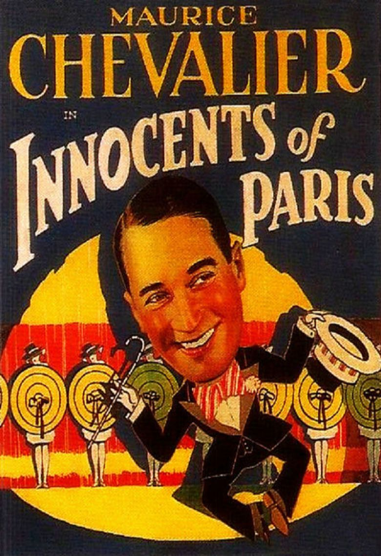 Innocents of Paris movie poster