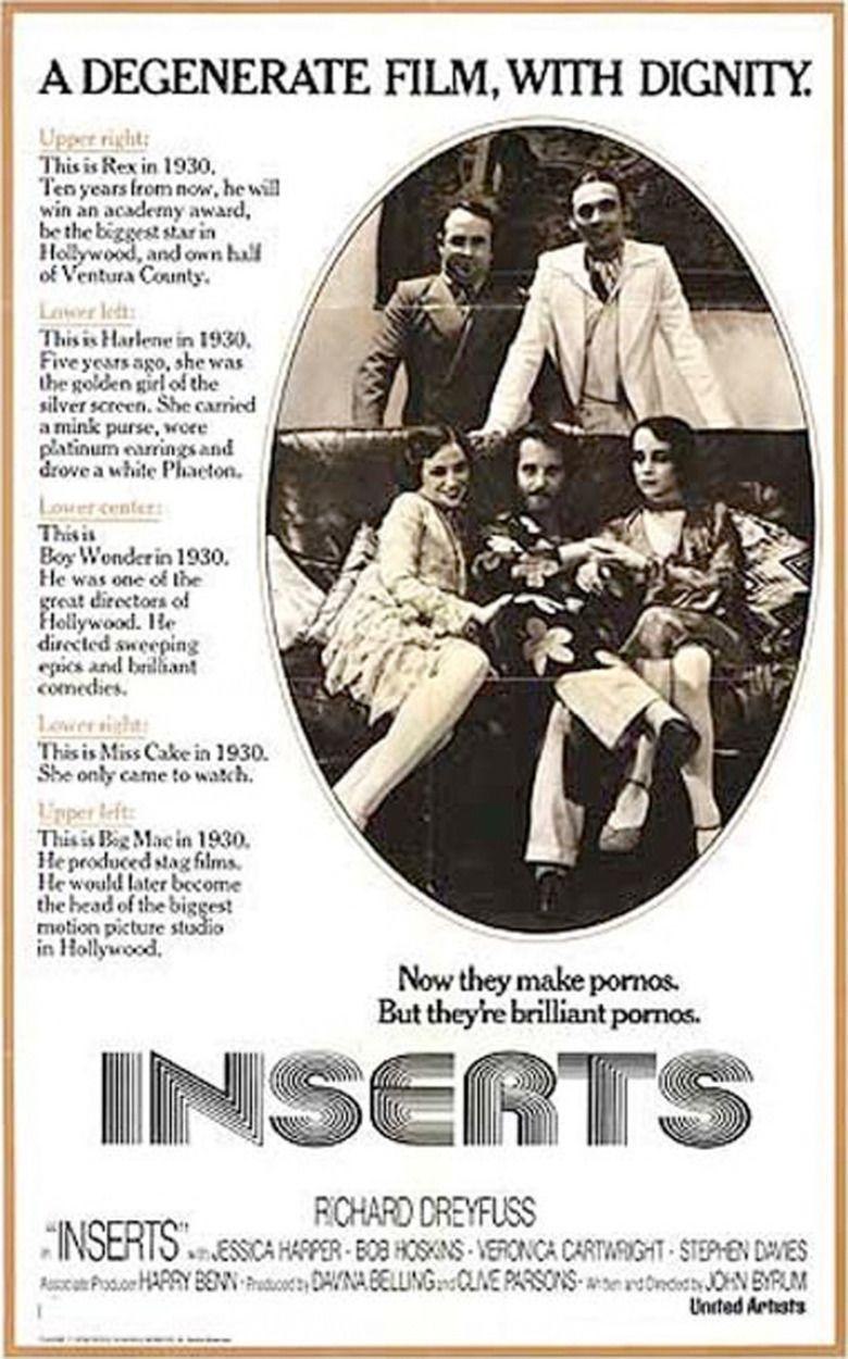 Inserts (film) Movie Poster