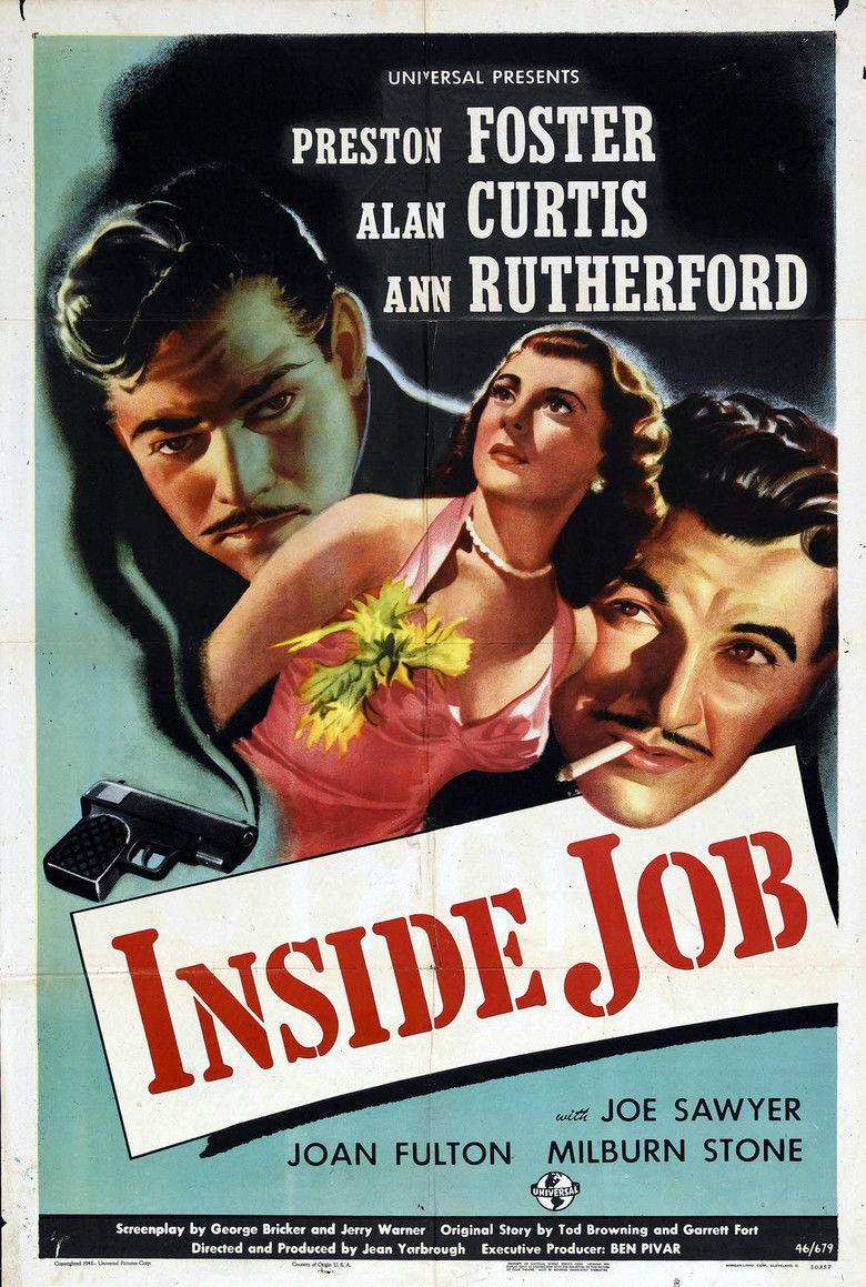 Inside Job (1946 film) movie poster