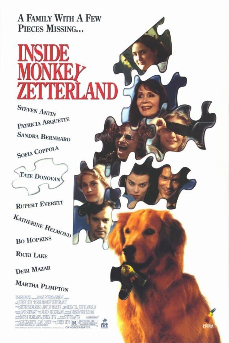 Inside Monkey Zetterland movie poster