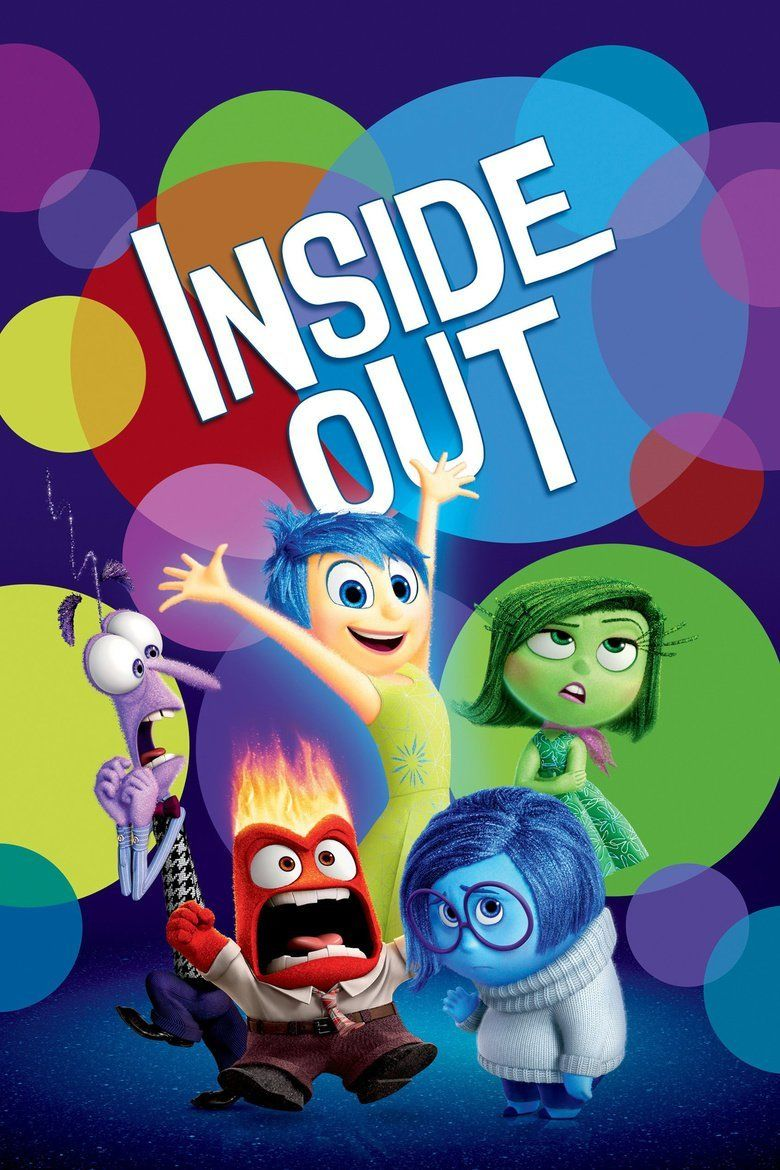 Inside Out (2015 film) movie poster
