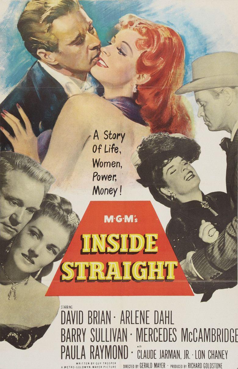 Inside Straight (film) movie poster