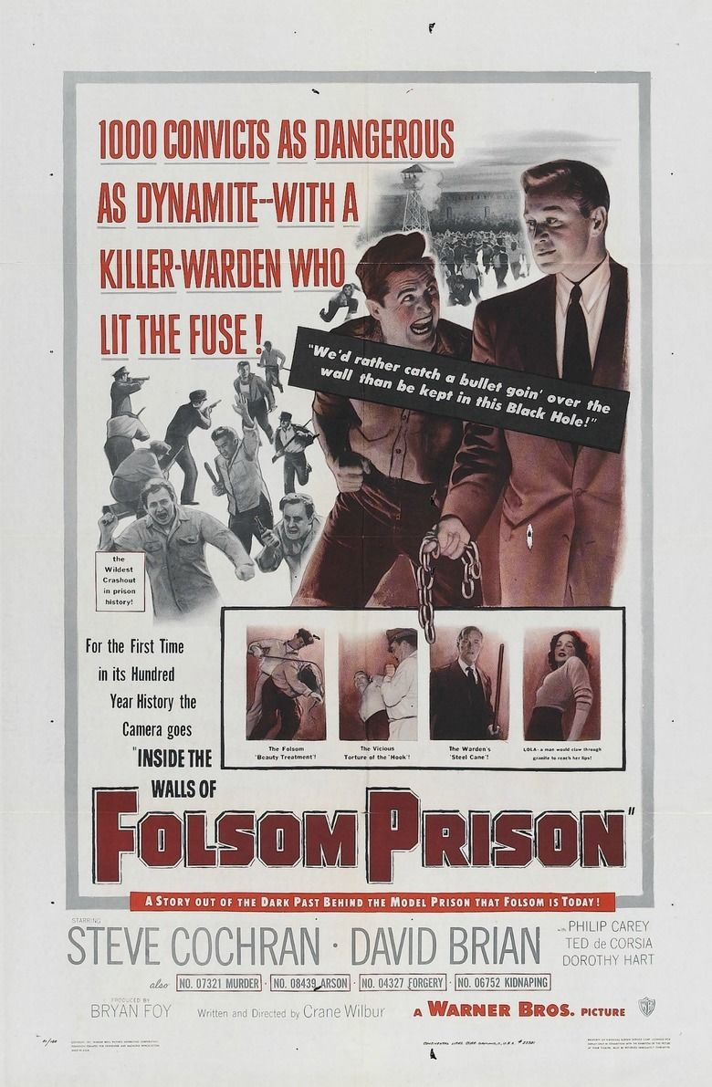 Inside the Walls of Folsom Prison movie poster