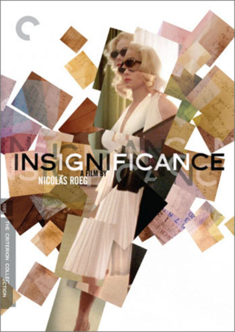 Insignificance (film) movie poster
