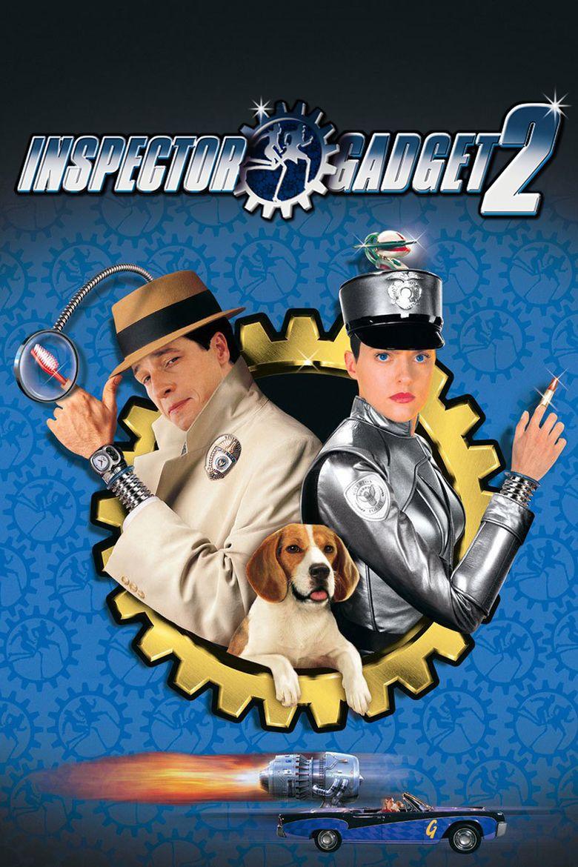 Inspector Gadget 2 movie poster