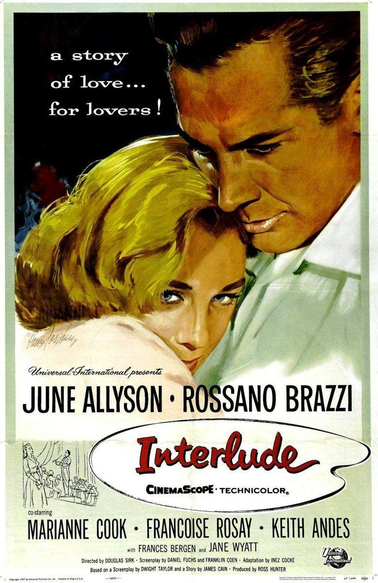 Interlude (1957 film) movie poster