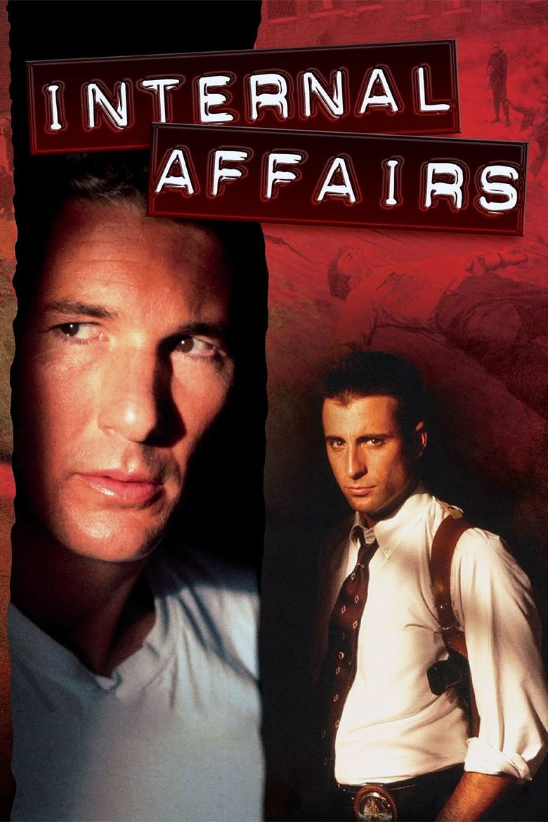 Internal Affairs (film) movie poster