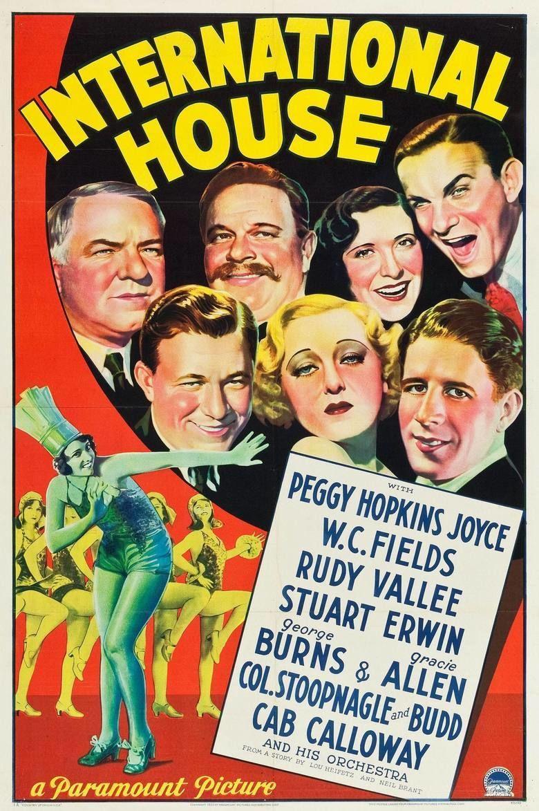 International House (1933 film) movie poster
