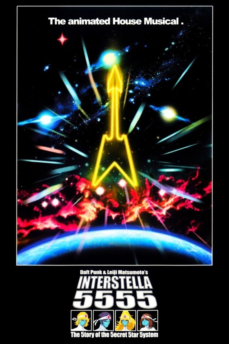 Interstella 5555: The 5tory of the 5ecret 5tar 5ystem movie poster
