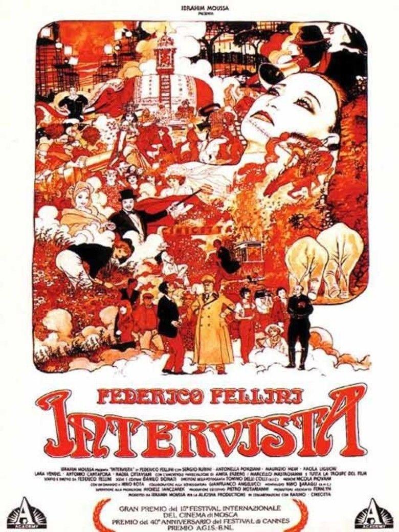 Intervista movie poster