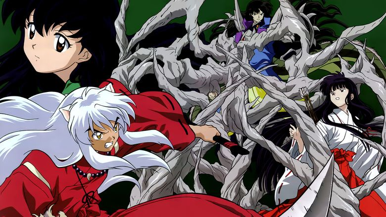 Inuyasha the Movie: The Castle Beyond the Looking Glass movie scenes