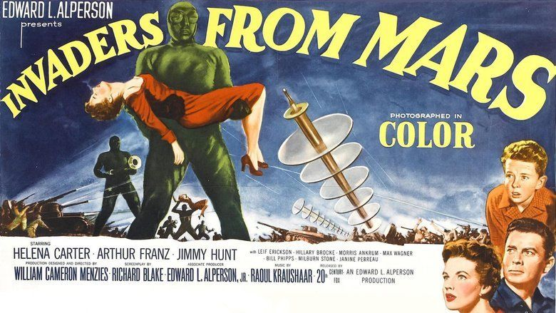 Invaders from Mars (1953 film) movie scenes