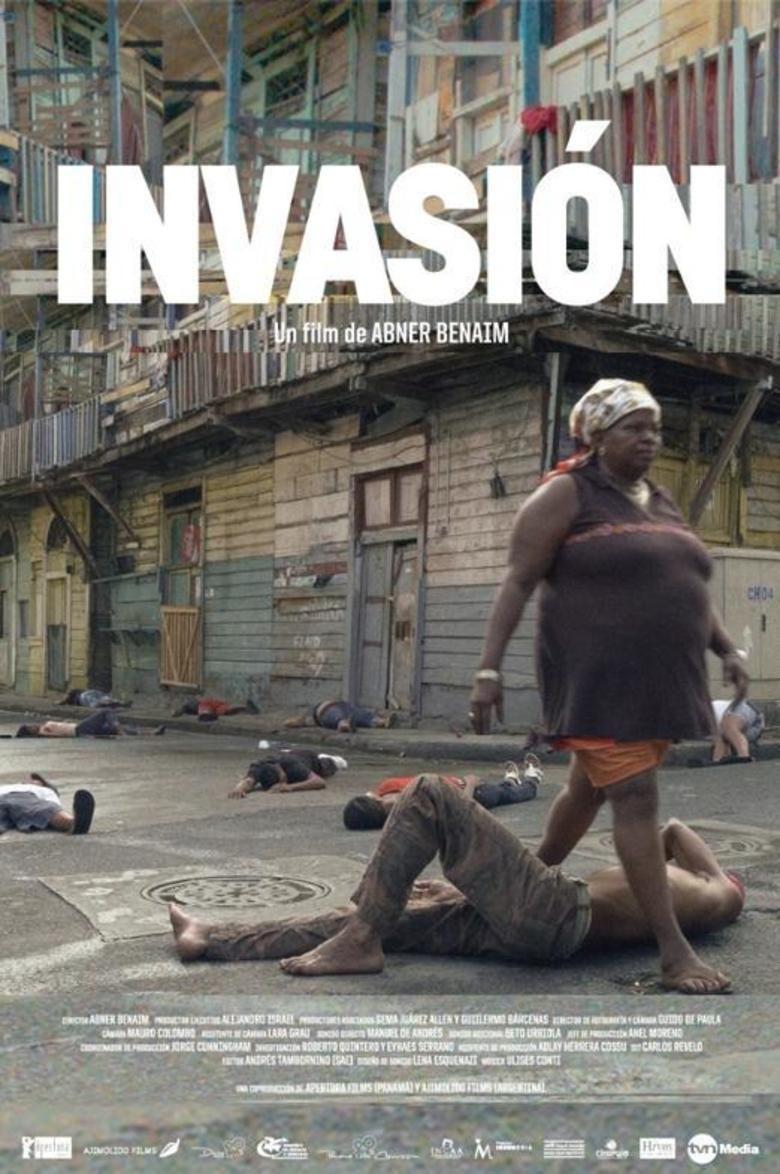 Invasion (2014 film) movie poster