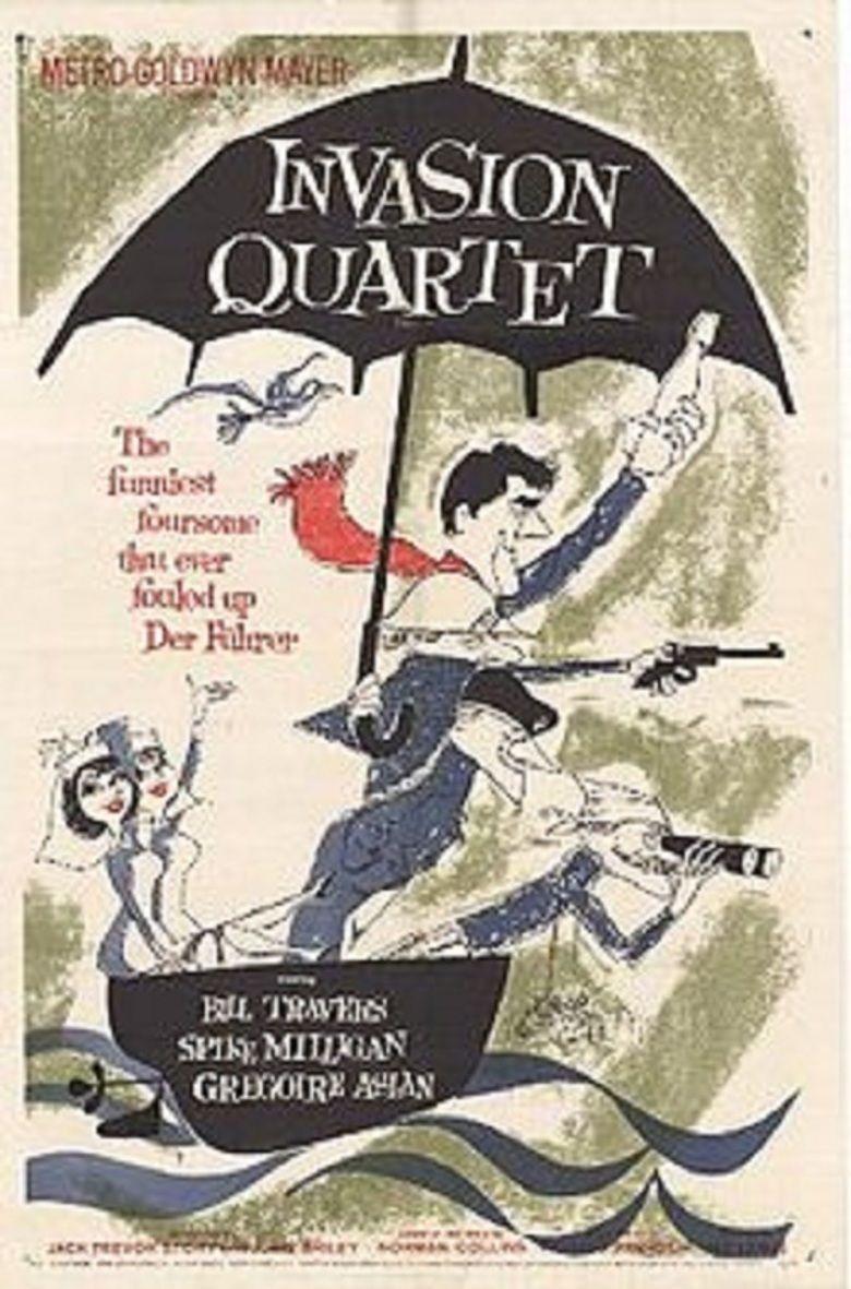 Invasion Quartet movie poster