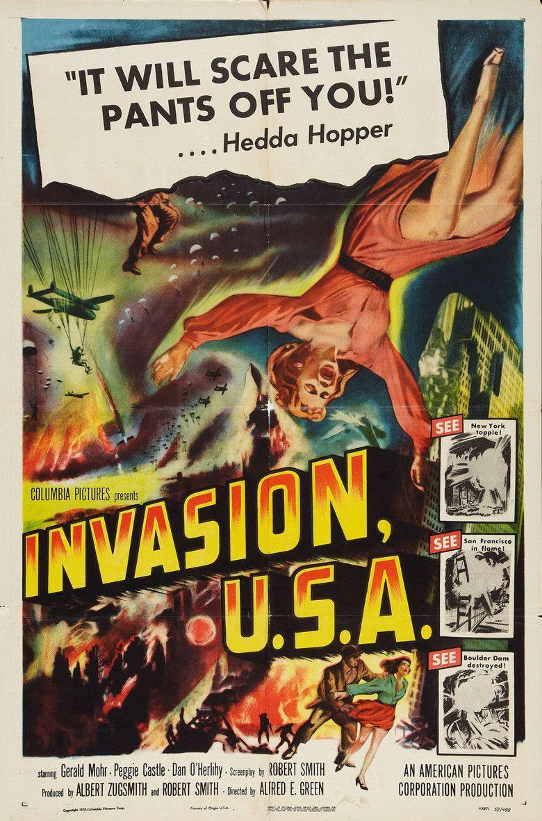 Invasion USA (1952 film) movie poster