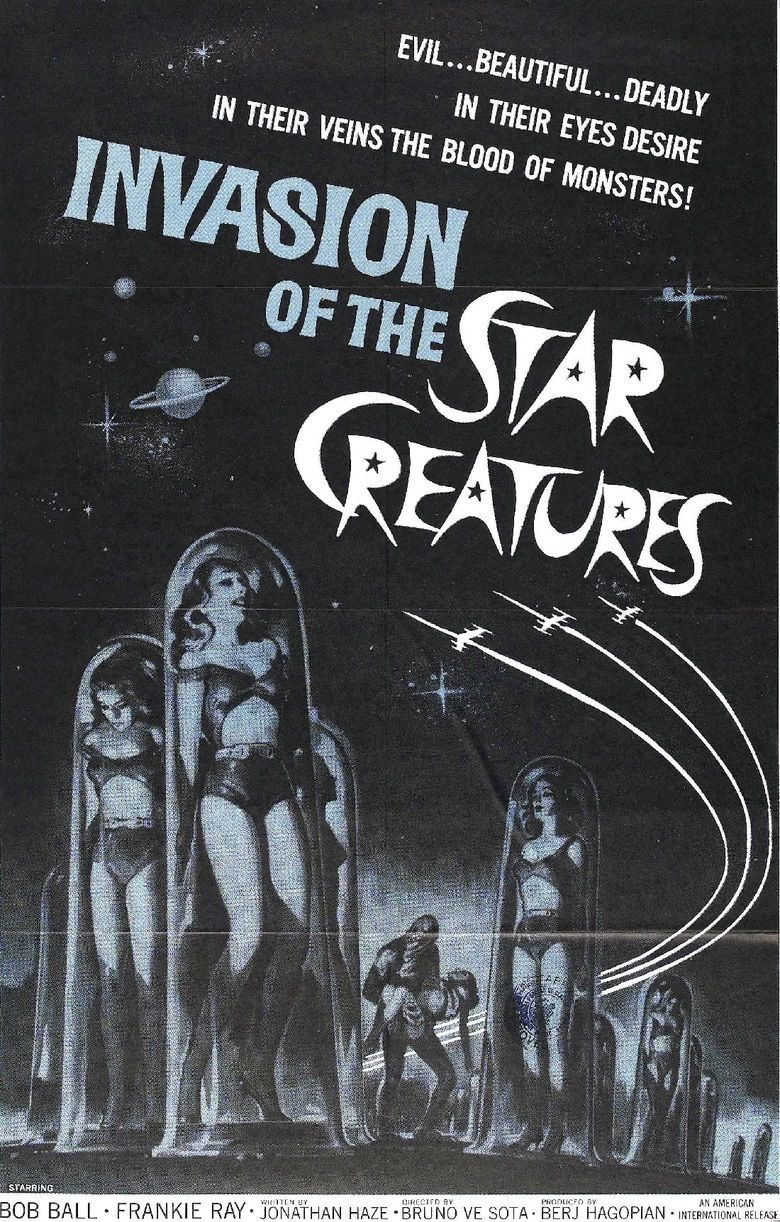 Invasion of the Star Creatures movie poster