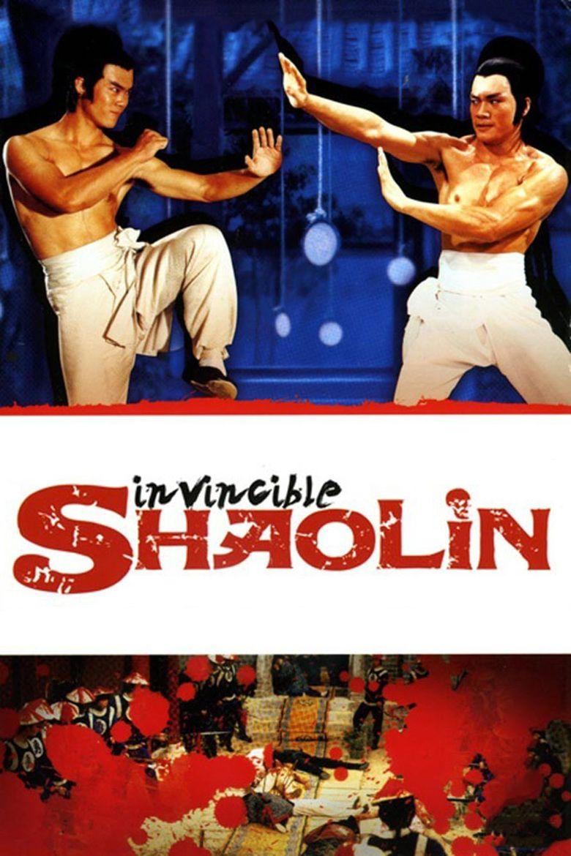 Invincible Shaolin movie poster