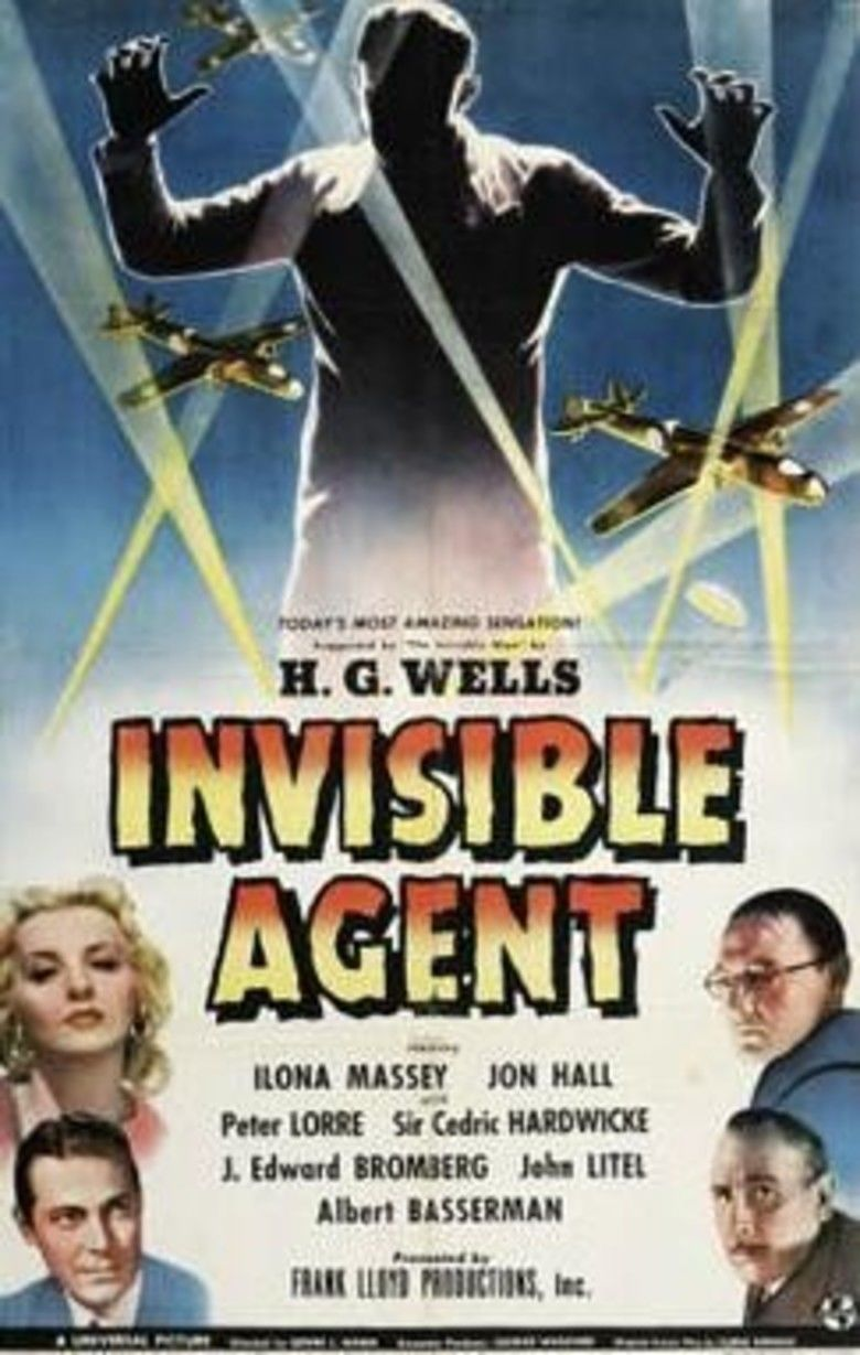 Invisible Agent movie poster