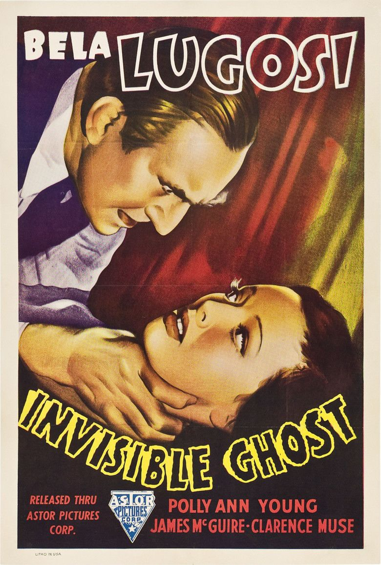 Invisible Ghost movie poster