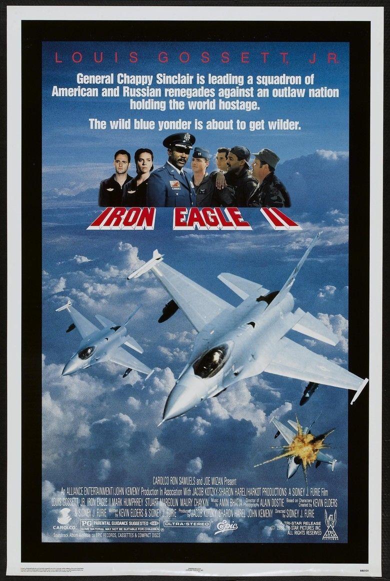 Iron Eagle II movie poster
