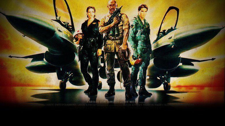 Iron Eagle II movie scenes