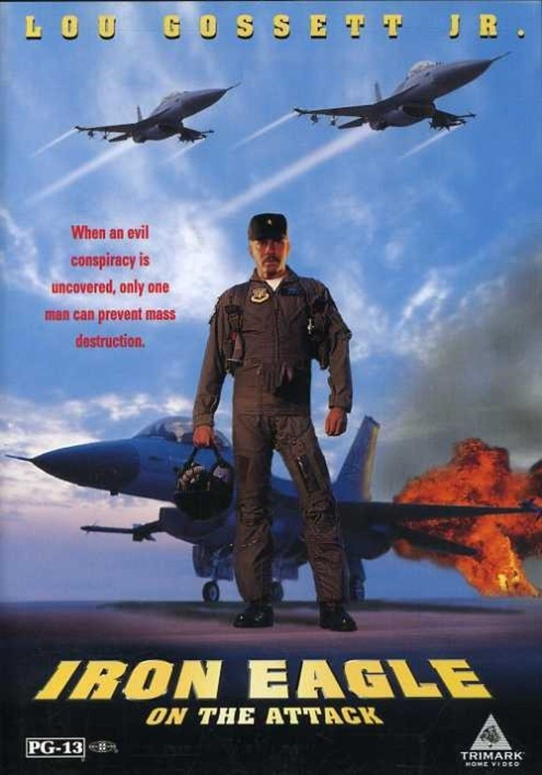 Iron Eagle on the Attack movie poster