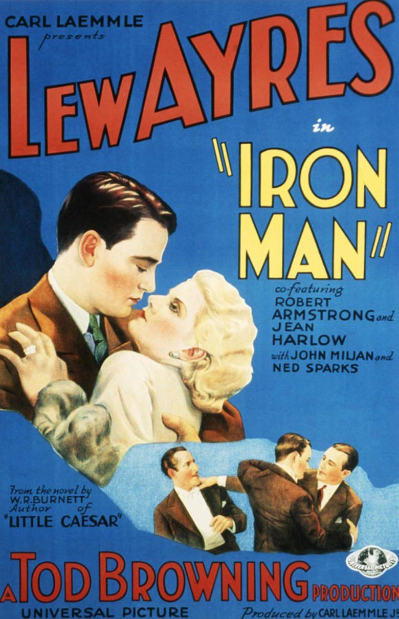 Iron Man (1931 film) movie poster