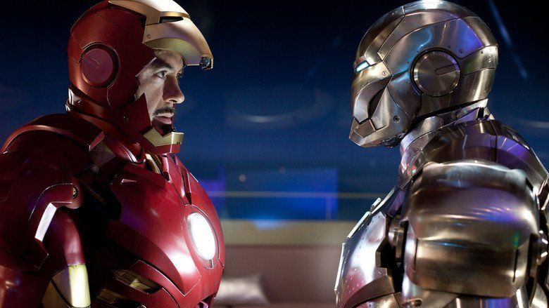 Iron Man 2 movie scenes