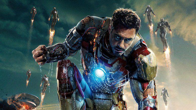 Iron Man 3 movie scenes