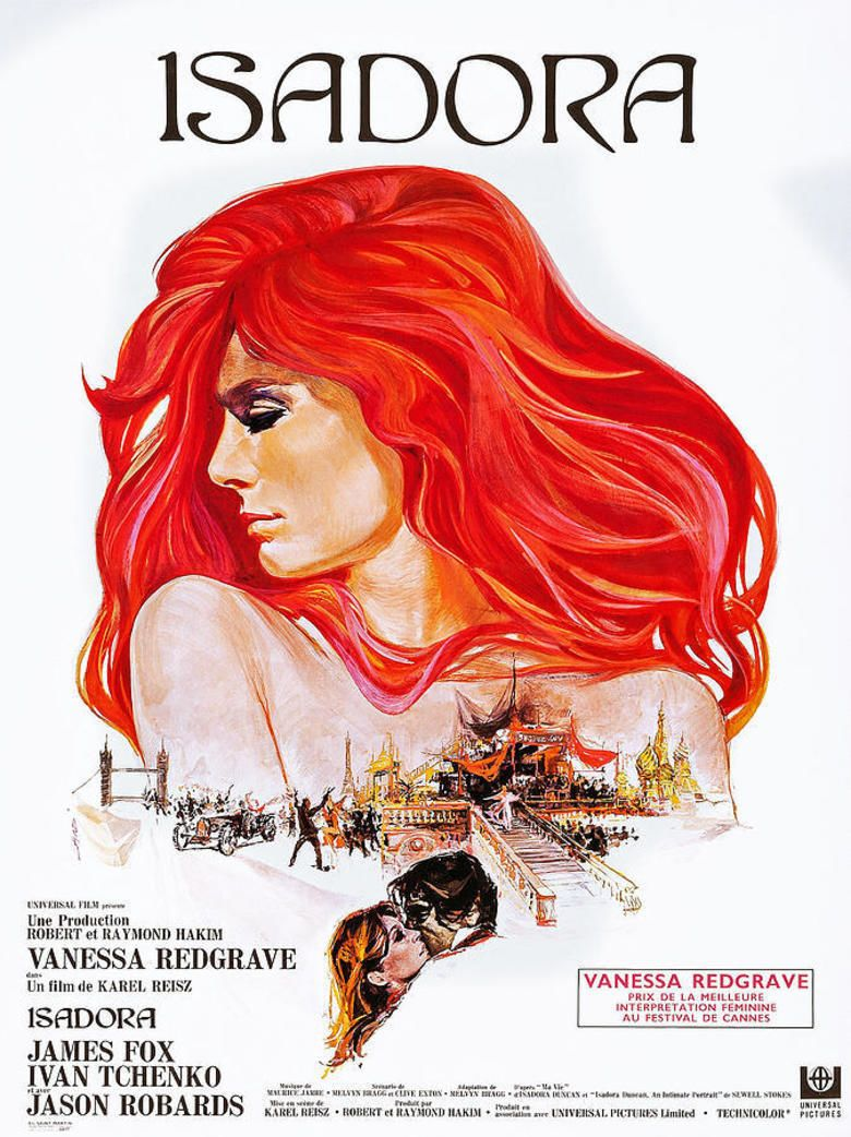 Isadora movie poster