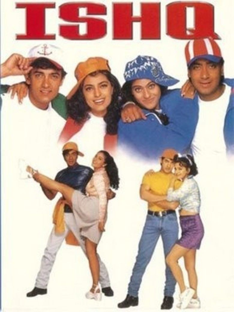 Ishq (1997 film) movie poster