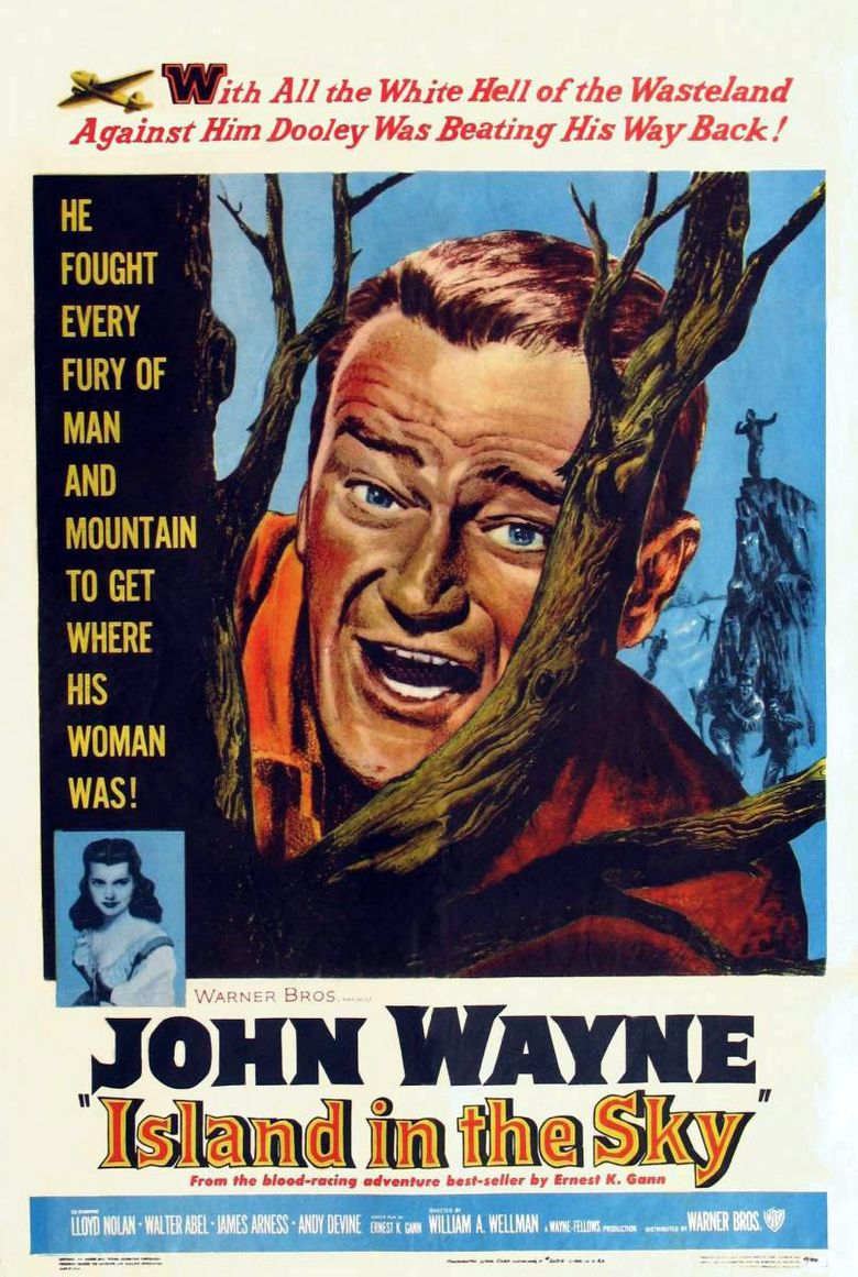 Island in the Sky (1953 film) movie poster