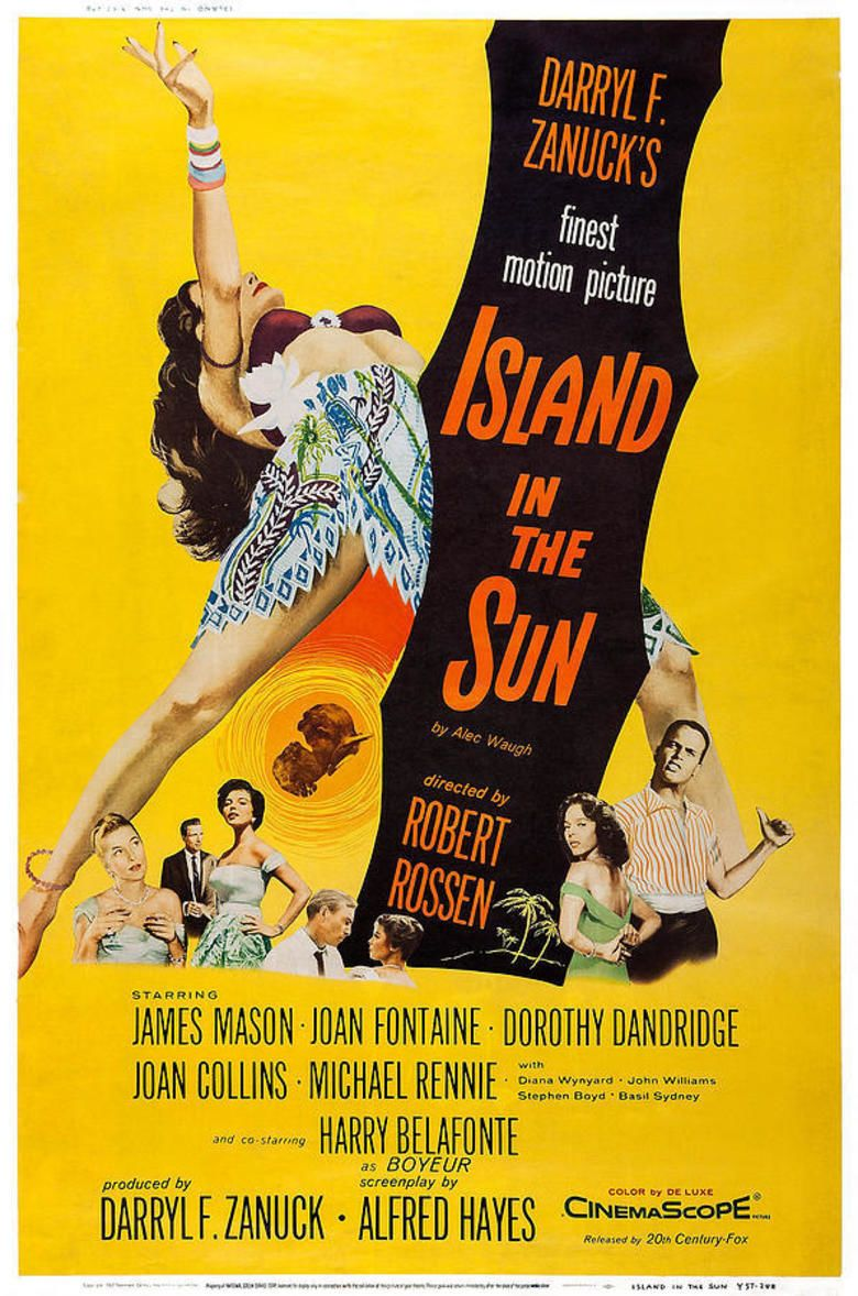 Island in the Sun (film) movie poster