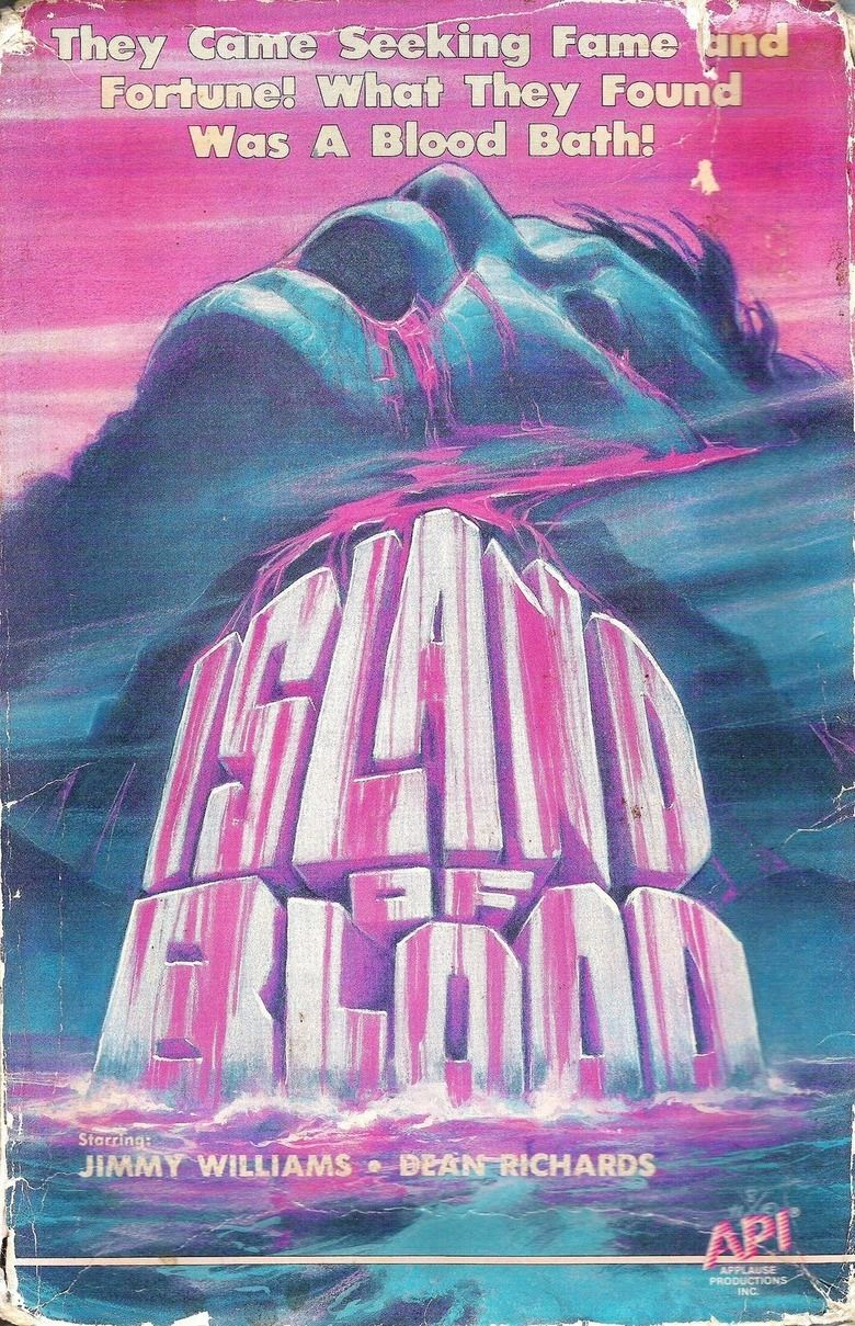 Island of Blood (1982 film) movie poster